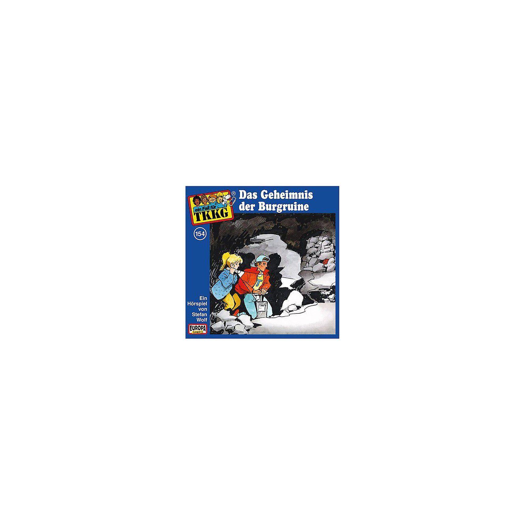 SONY BMG MUSIC CD TKKG 154 (Geheimnis der Burgruine)
