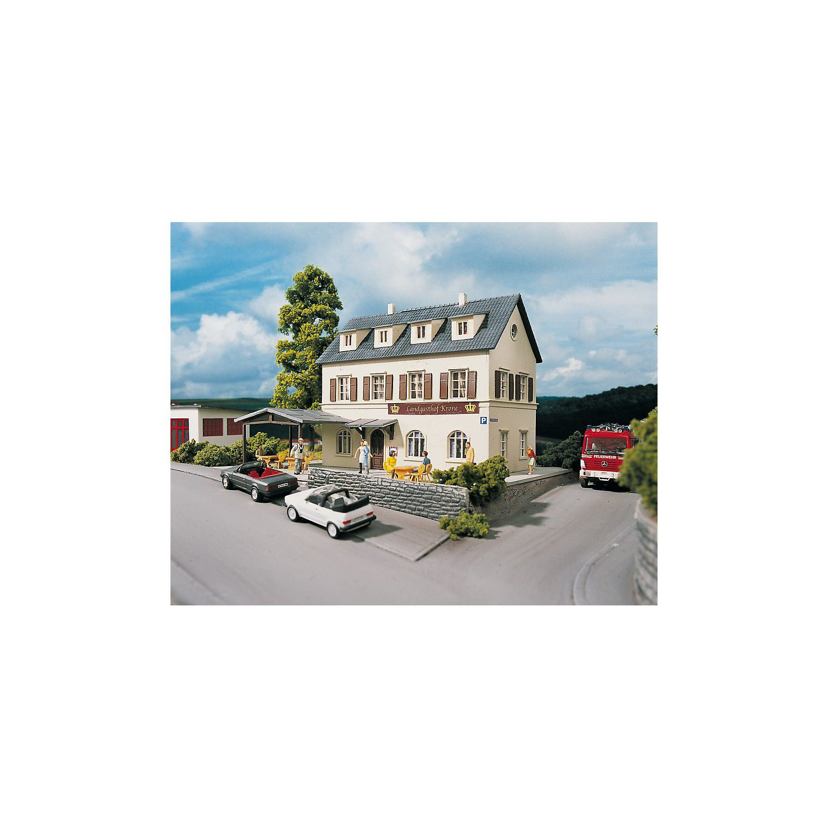 PIKO Spur H0 Bausatz Landgasthof Krone