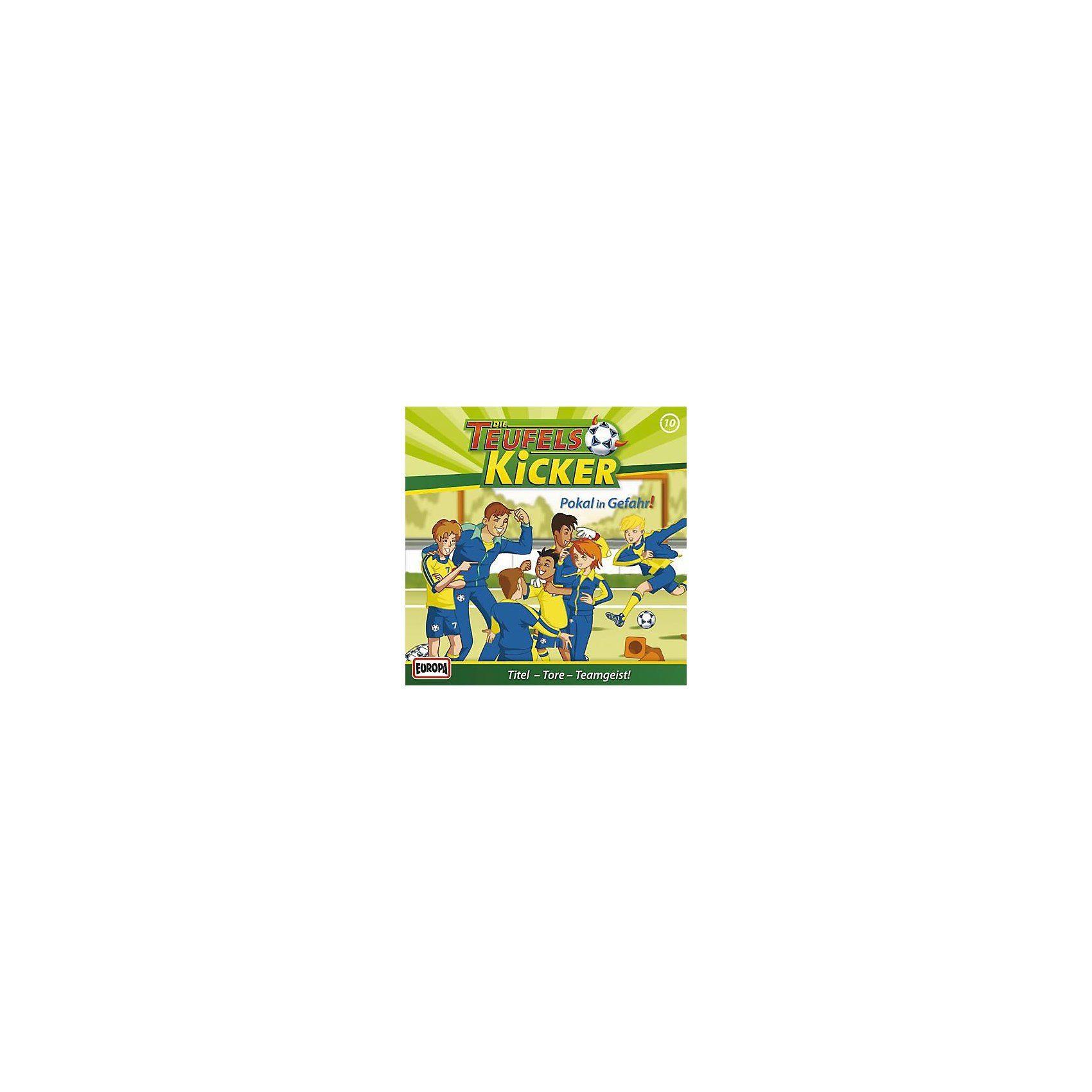 Sony CD Teufelskicker 10 Teufelskicker - Pokal in Ge