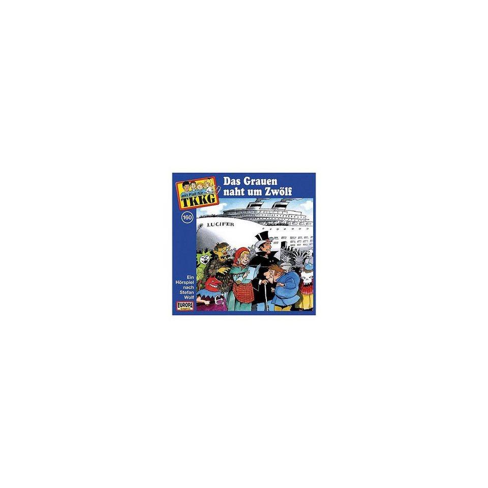 SONY BMG MUSIC CD TKKG 160 - Das Grauen naht um Zwölf