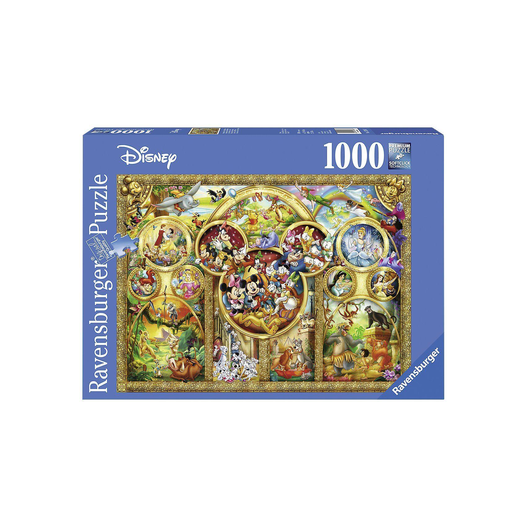 Ravensburger Puzzle 1000 Teile Die schönsten Disney Themen