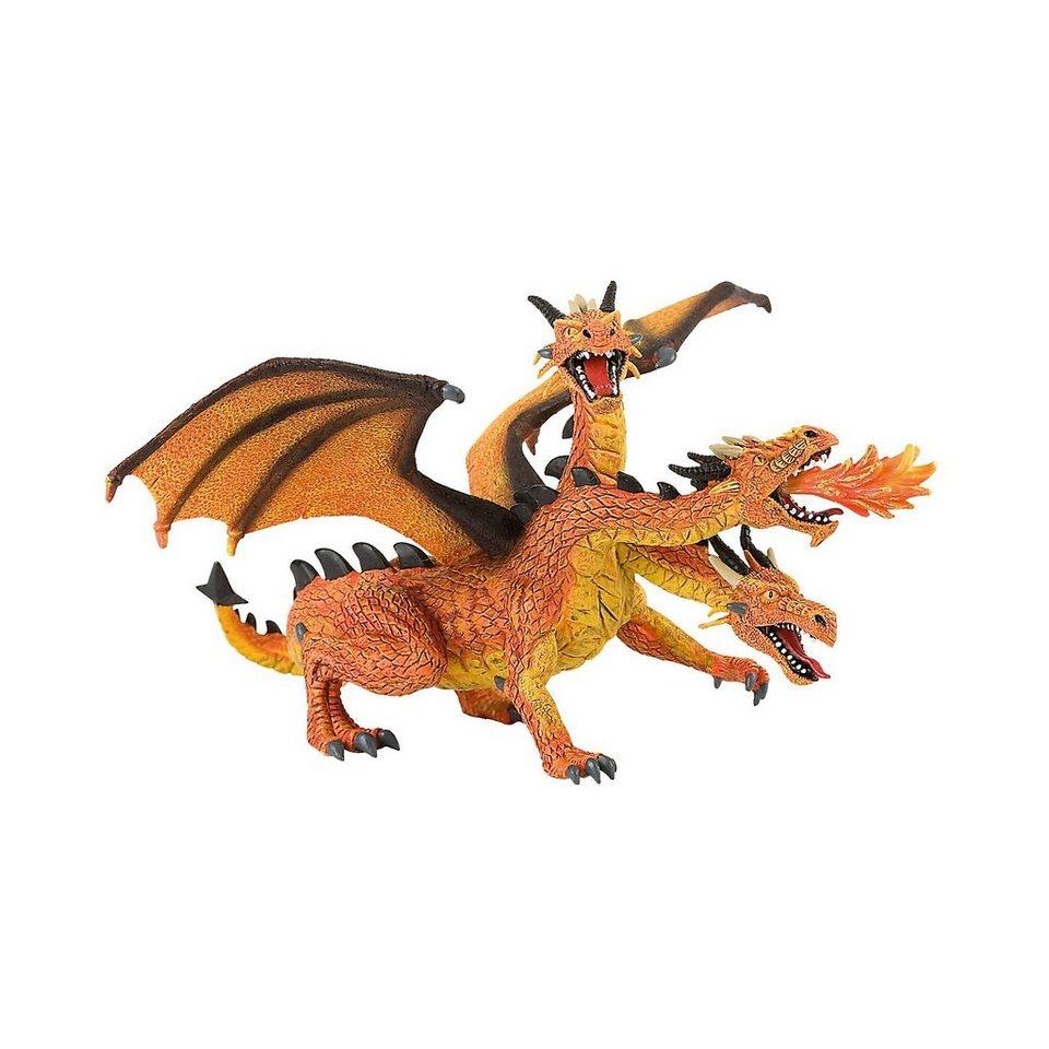 BULLYLAND Figurenwelt Drachen mit 3 Köpfen