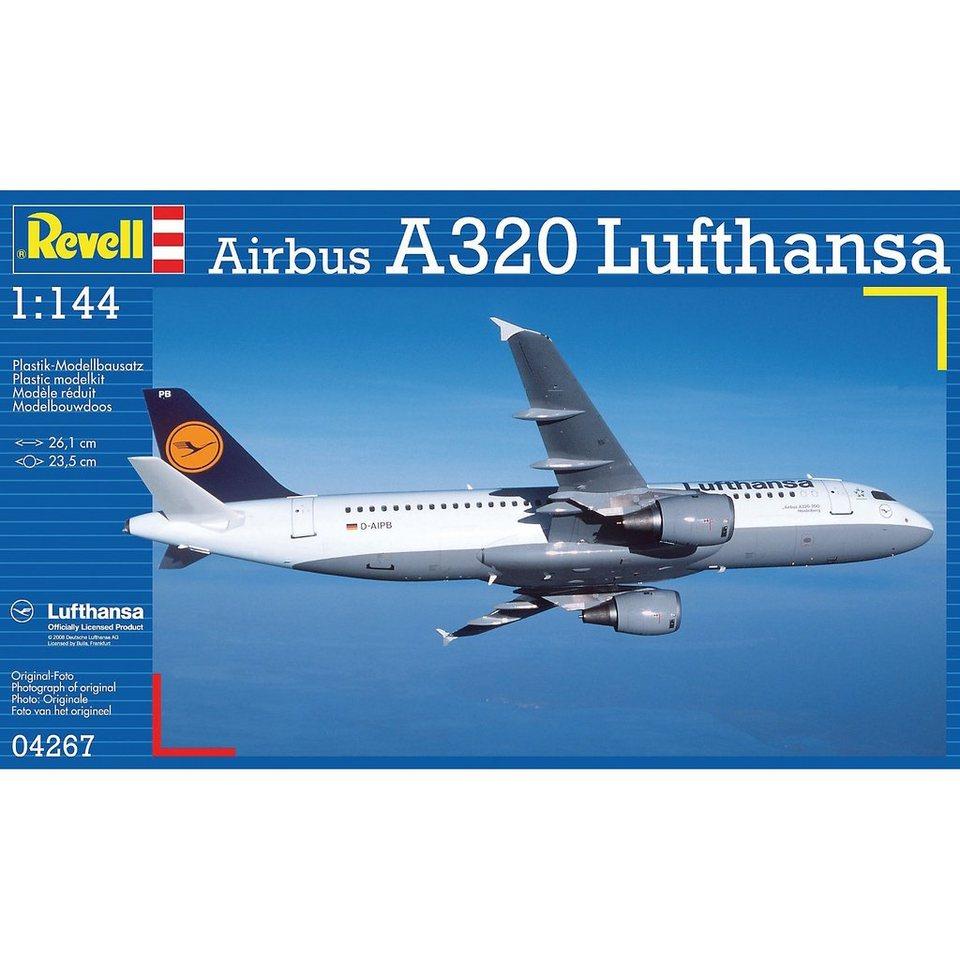 Revell Modellbausatz Airbus A320 Lufthansa im Maßstab 1:144