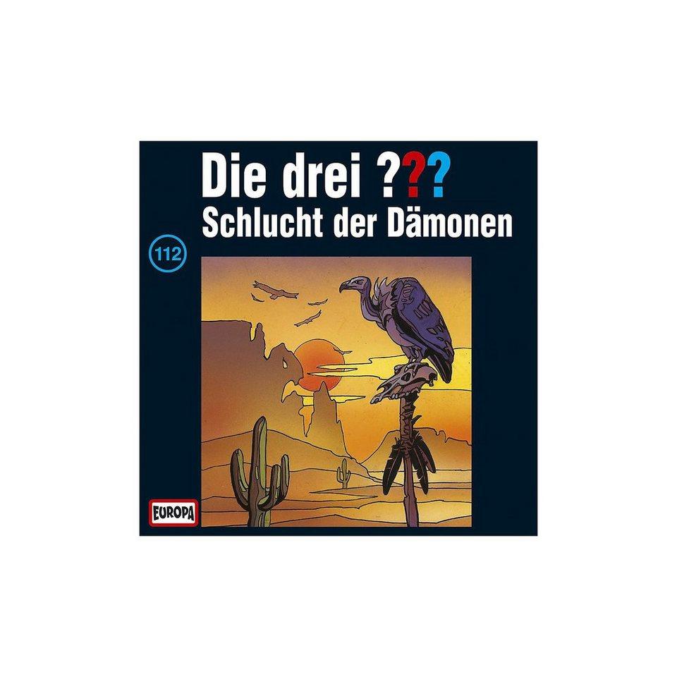 SONY BMG MUSIC CD Die drei ??? 112 (Schlucht der Dämonen)