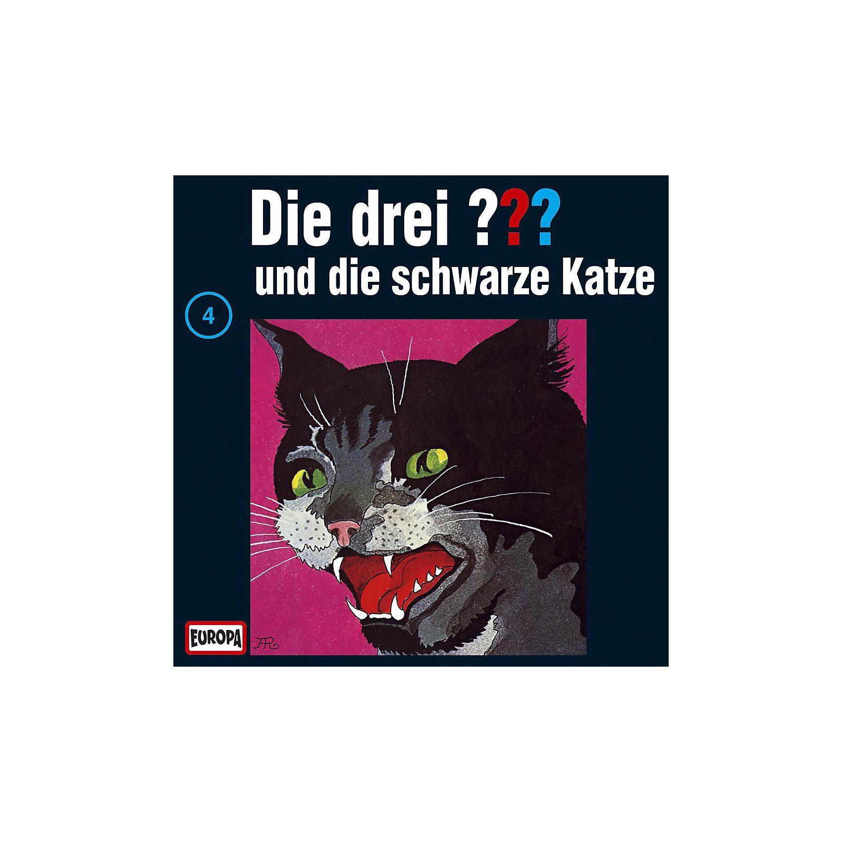 Sony CD Die drei ??? 004 (die schwarze Katze)