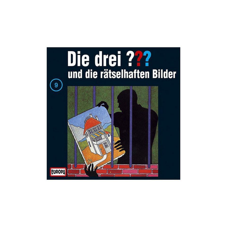 SONY BMG MUSIC CD Die drei ??? 009 (rätselhafte Bilder)
