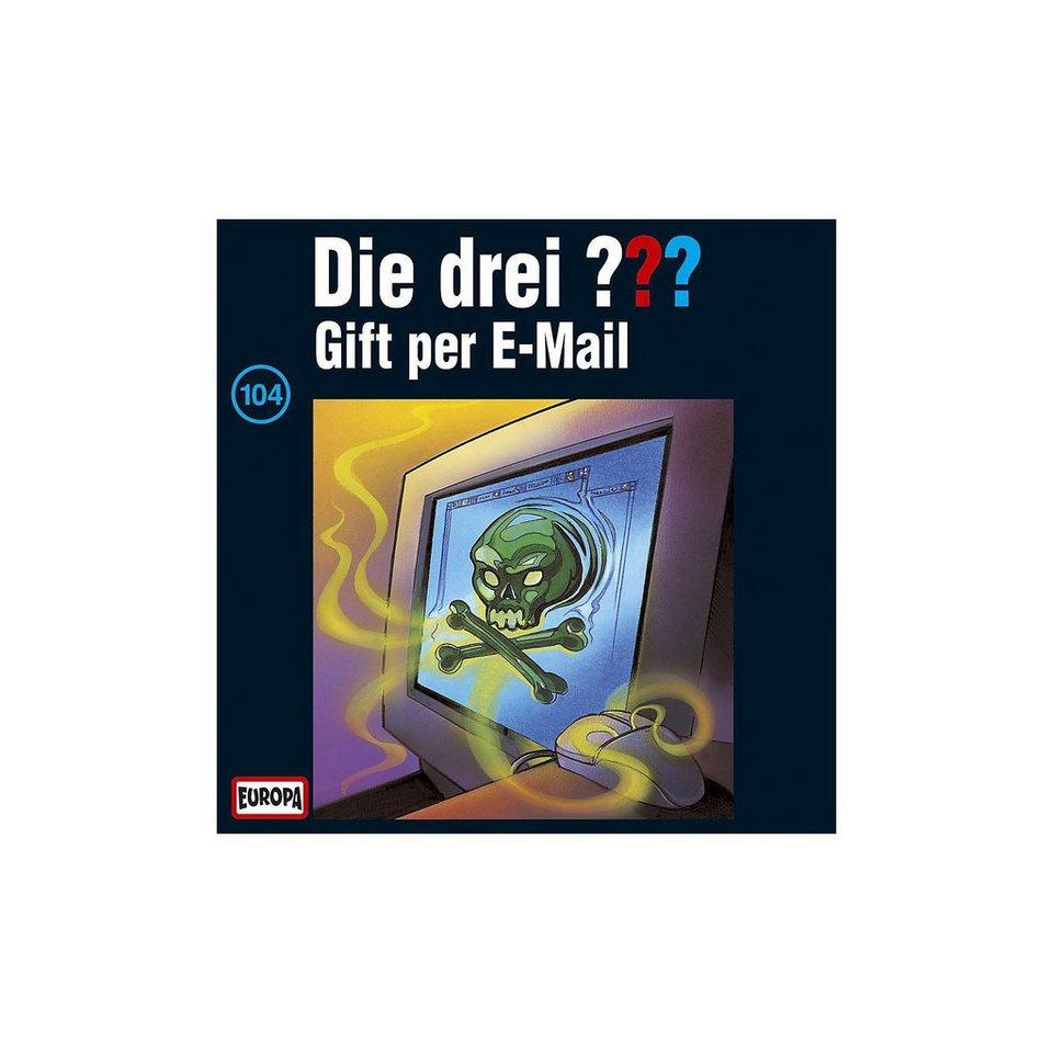 SONY BMG MUSIC CD Die drei ??? 104 (Gift per Email)