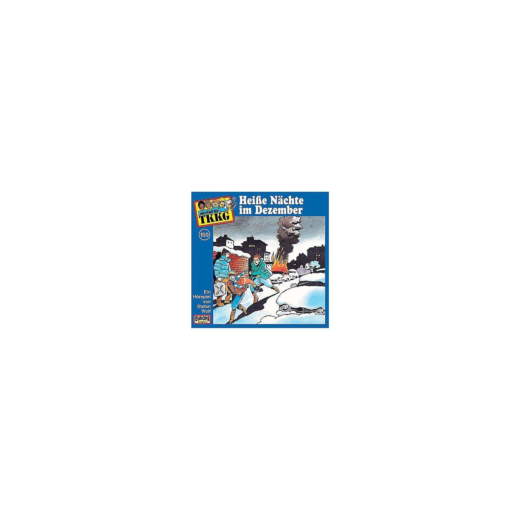 SONY BMG MUSIC CD TKKG 150 (Heisse Nächte im Dezember)