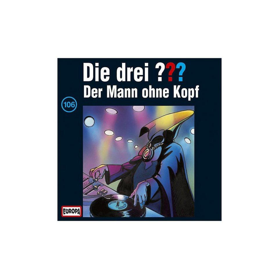 SONY BMG MUSIC CD Die drei ??? 106 (Der Mann ohne Kopf)