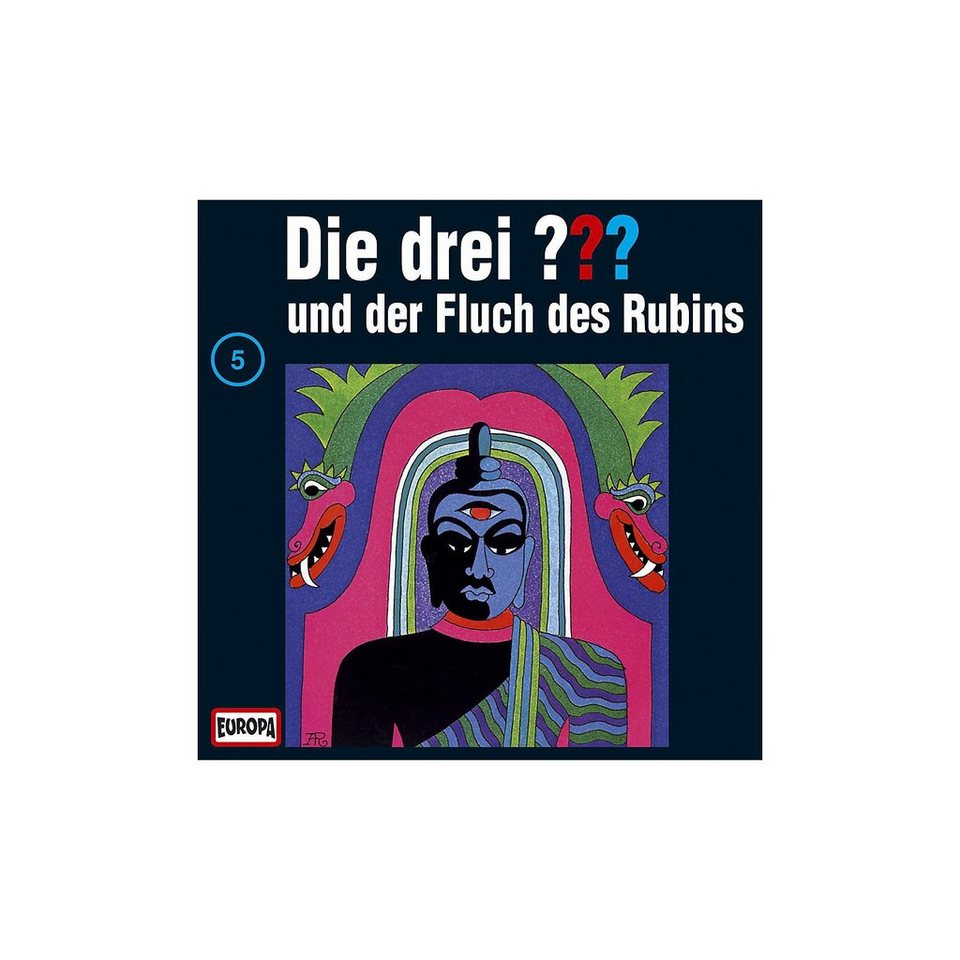 SONY BMG MUSIC CD Die drei ??? 005 (Fluch des Rubins)