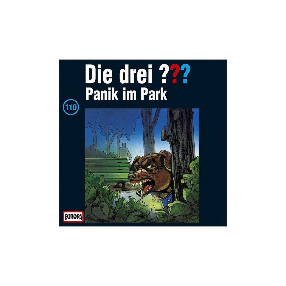 SONY BMG MUSIC CD Die drei ??? 110 (Panik im Park)