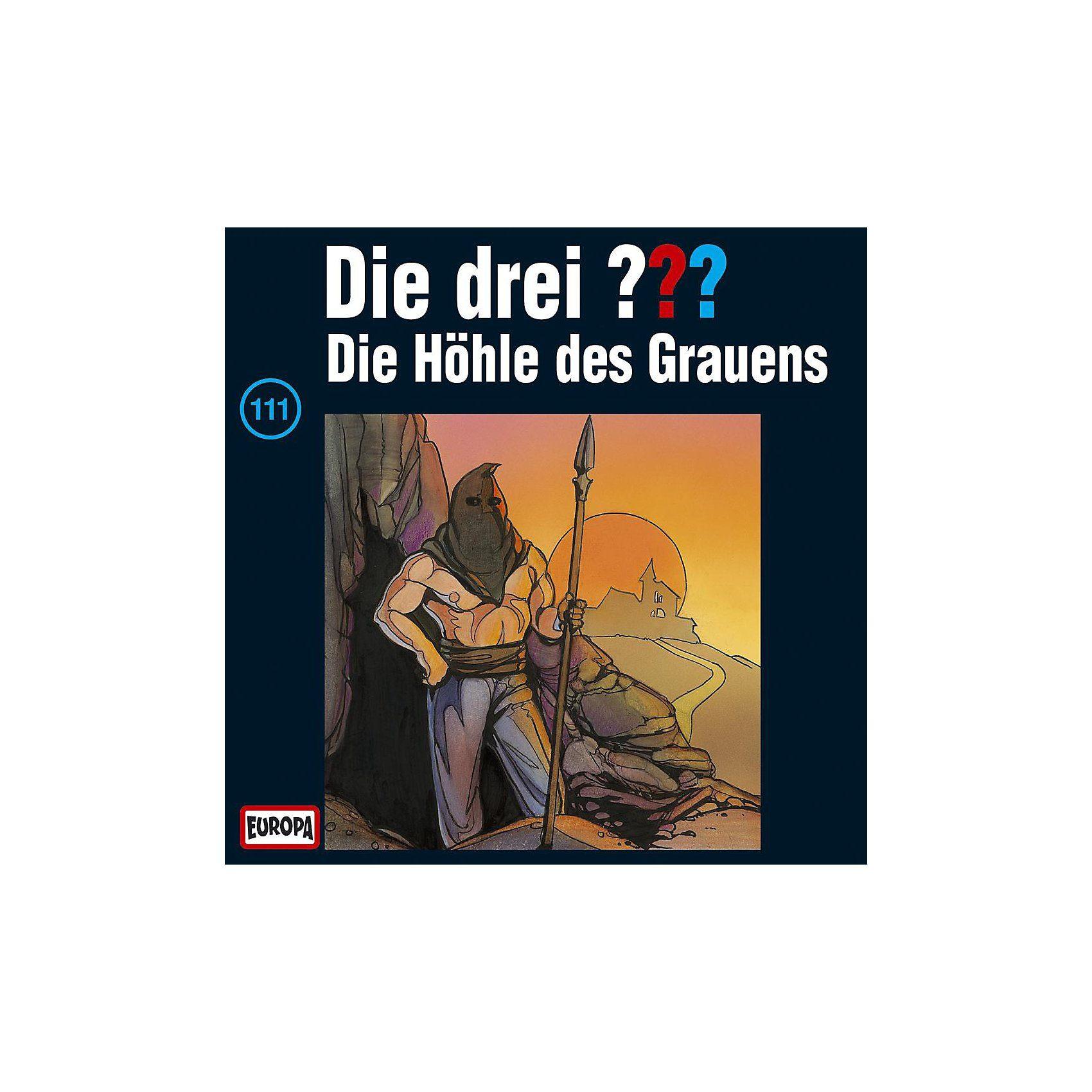 SONY BMG MUSIC CD Die drei ??? 111 (Höhle des Grauens)