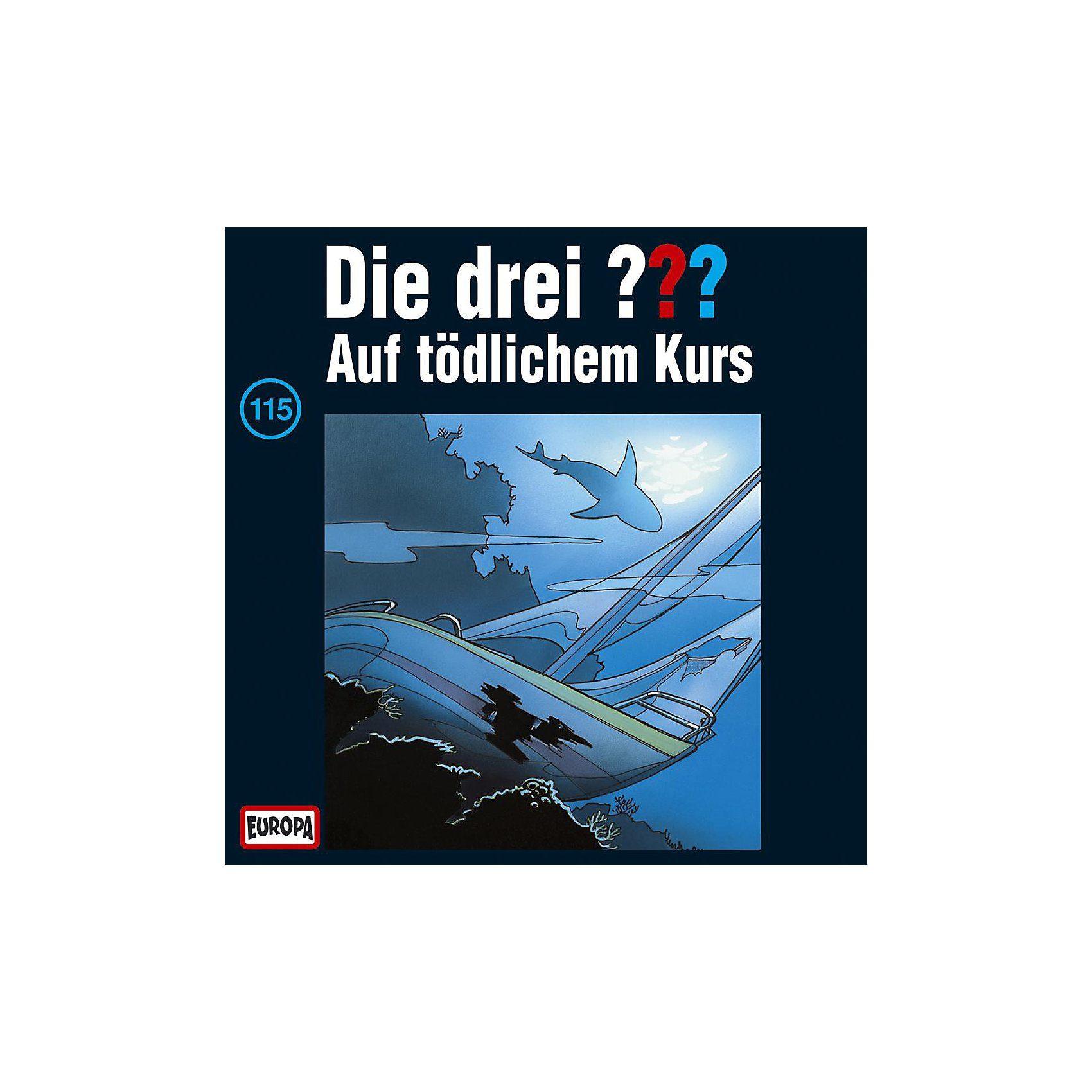 SONY BMG MUSIC CD Die drei ??? 115 (auf tödlichem Kurs)