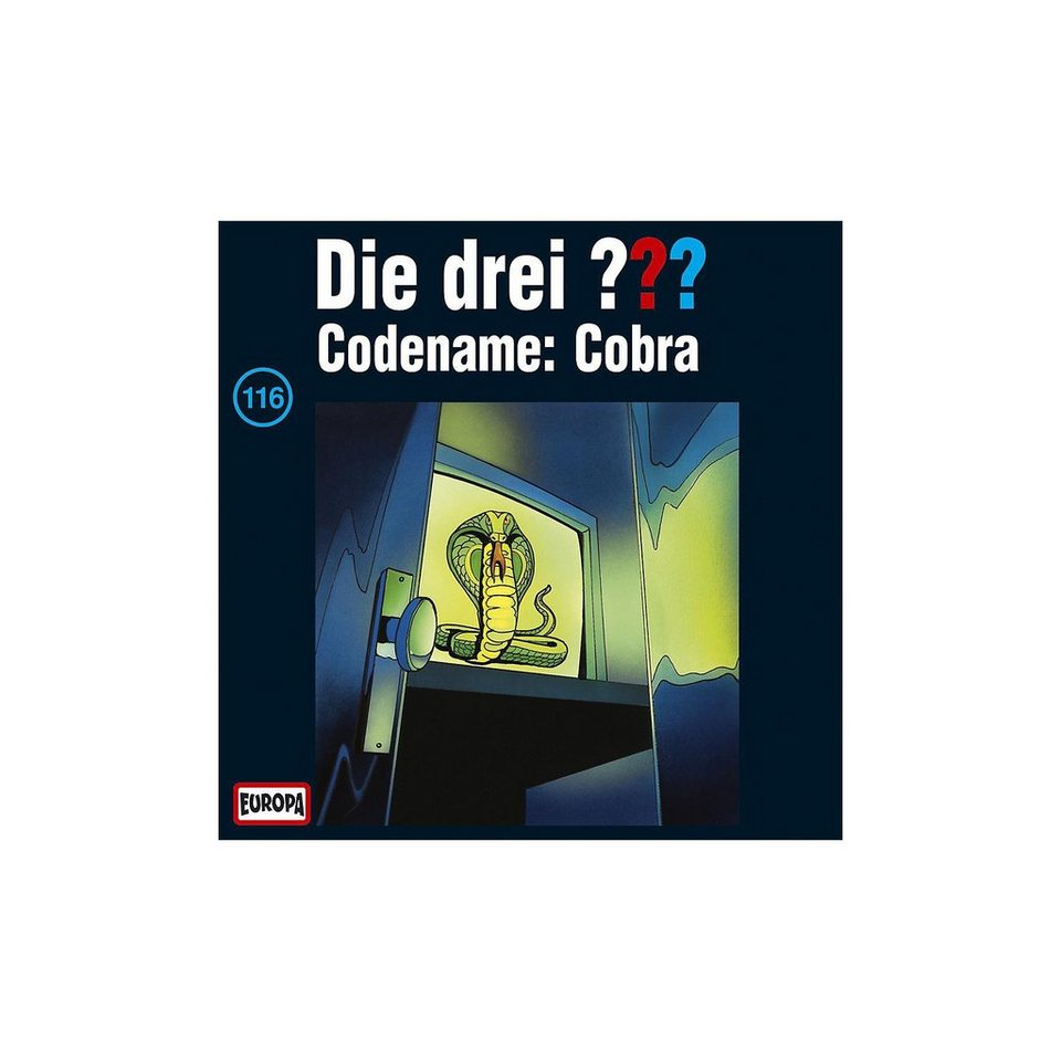 SONY BMG MUSIC CD Die drei ??? 116 (Codename: Cobra)