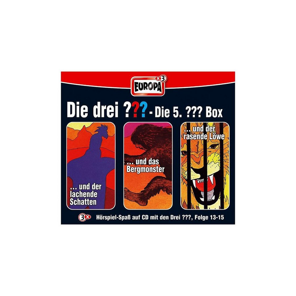 SONY BMG MUSIC CD Die Drei ???: Box (13-15)