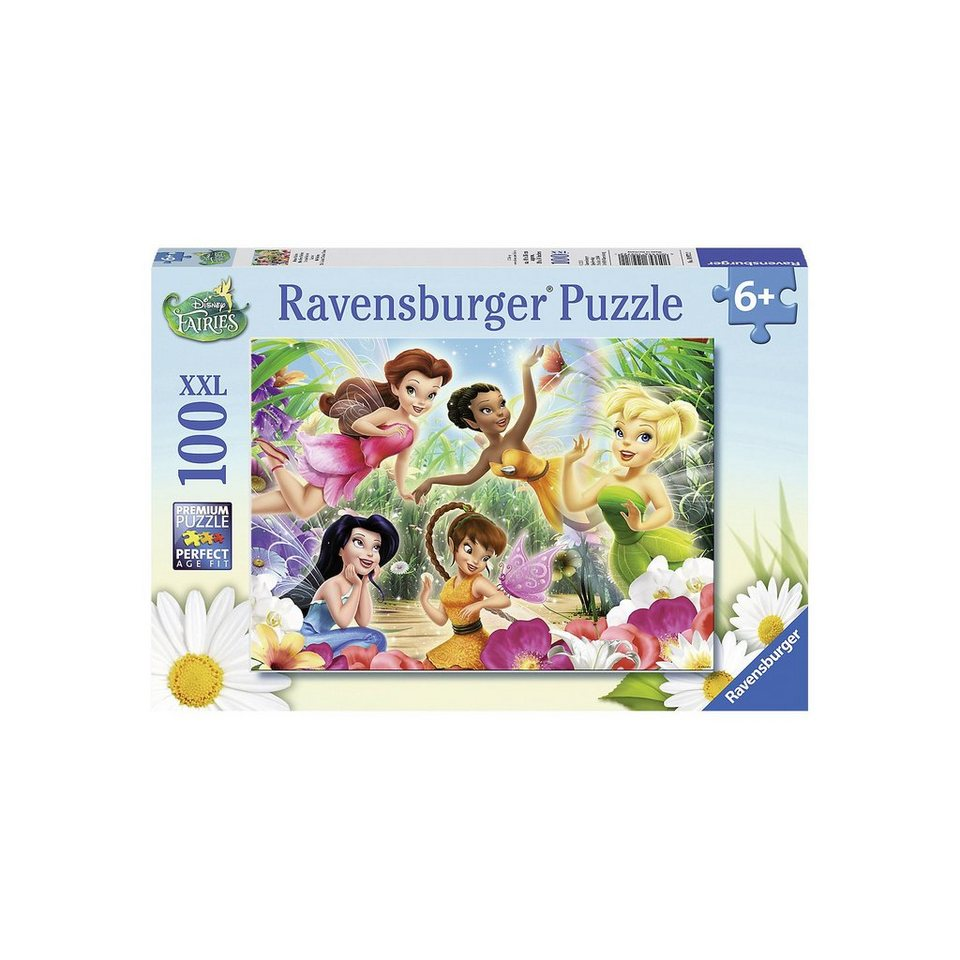 Ravensburger Puzzle XXL- 100 Teile- Meine Fairies