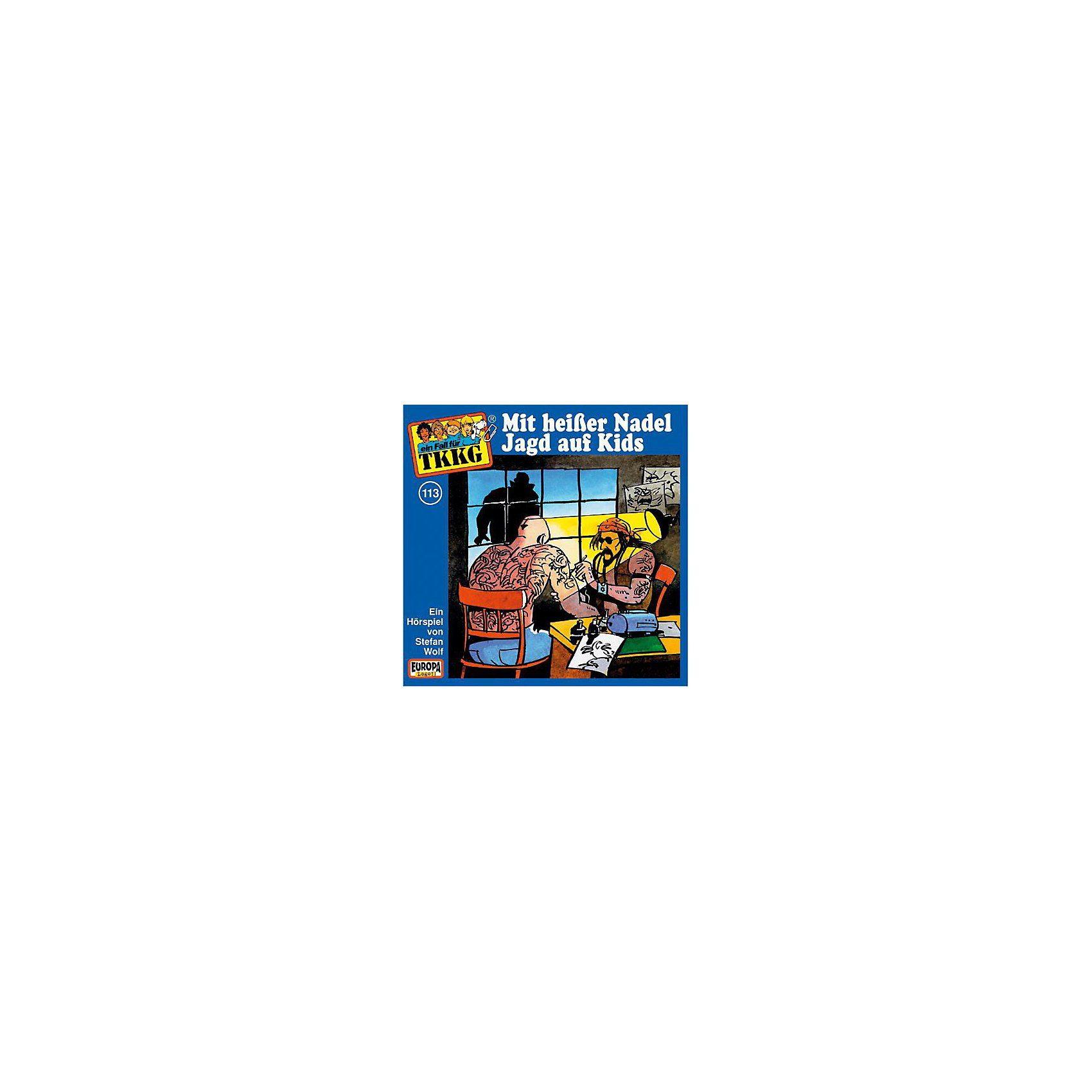 Sony CD TKKG 113 - Mit heißer Nadel Jagd auf Kids