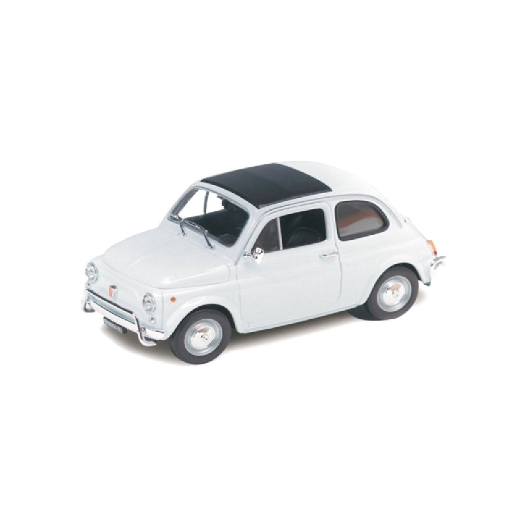 Welly 57er Fiat 500 (1957), weiß 1:18