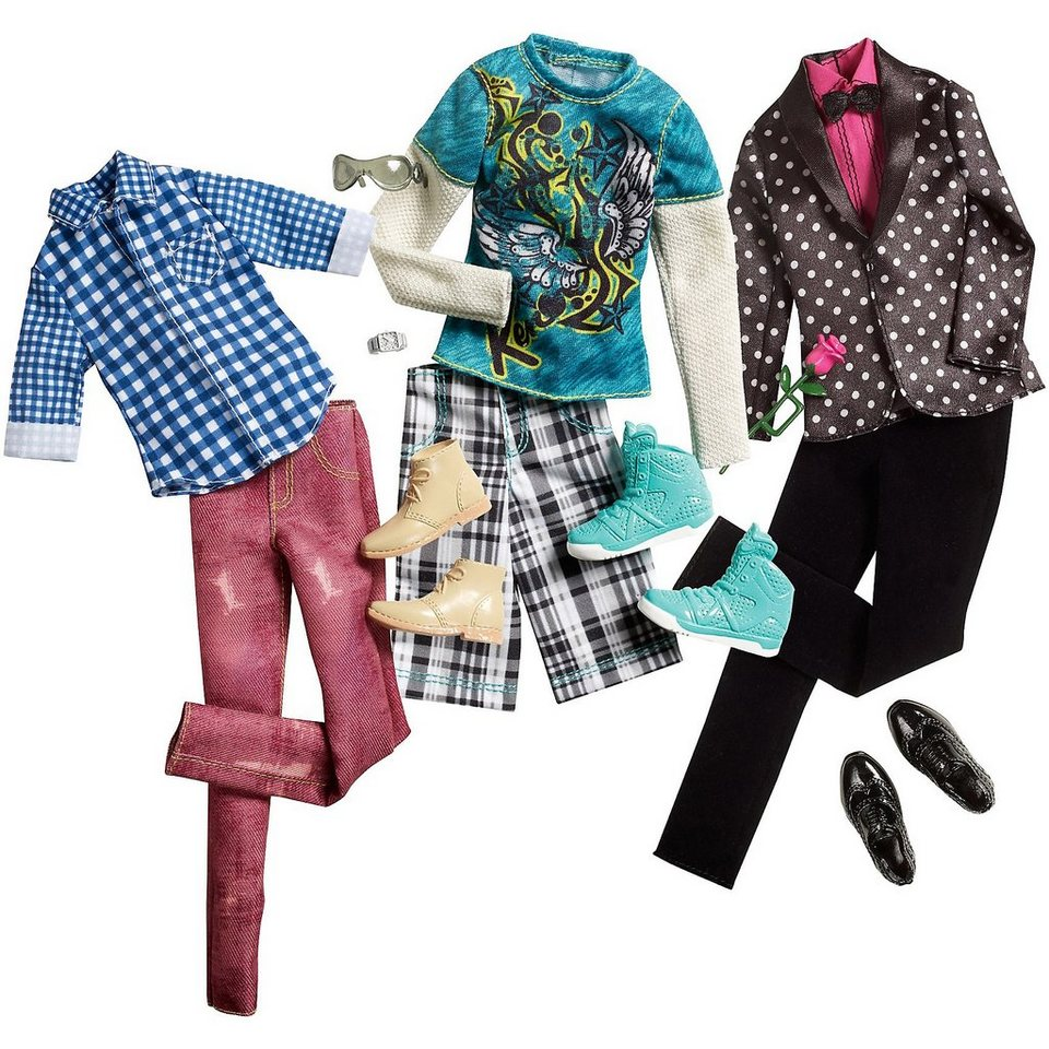 Mattel BARBIE Mode für Freund Ken, 1 Mode