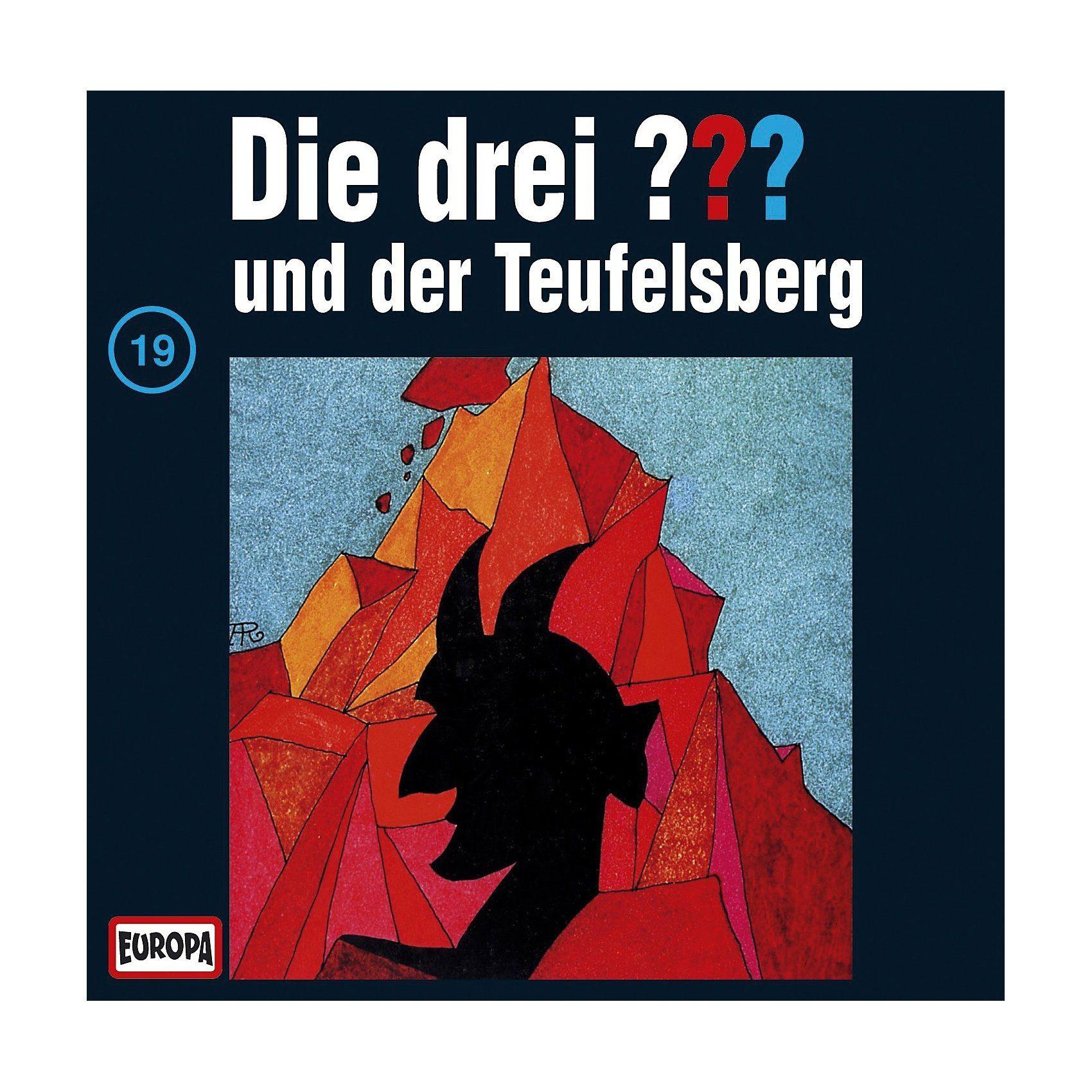 SONY BMG MUSIC CD Die Drei ??? 19 - und der Teufelsberg