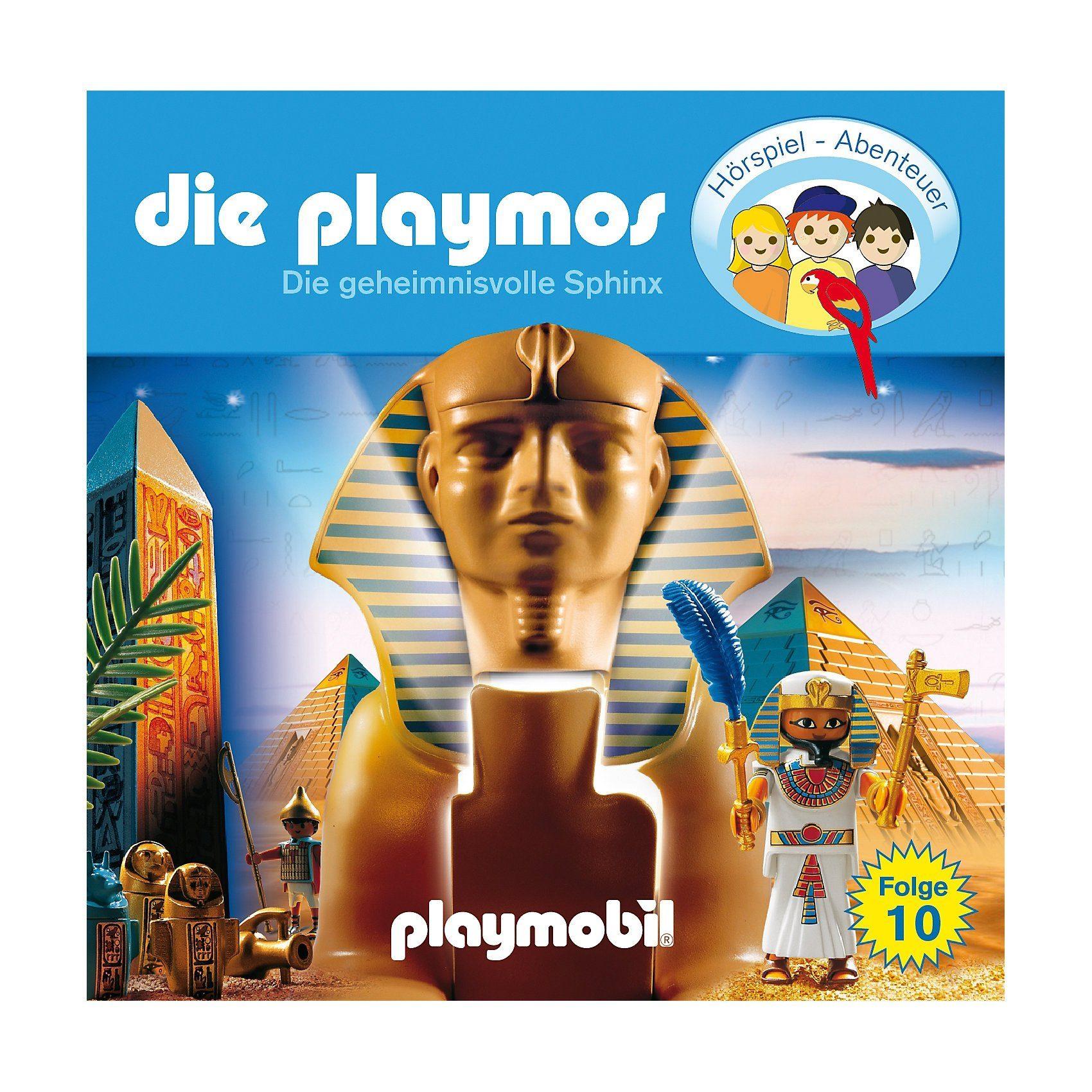 Edel CD Die Playmos 10 - Das Geheimnis der Sphinx