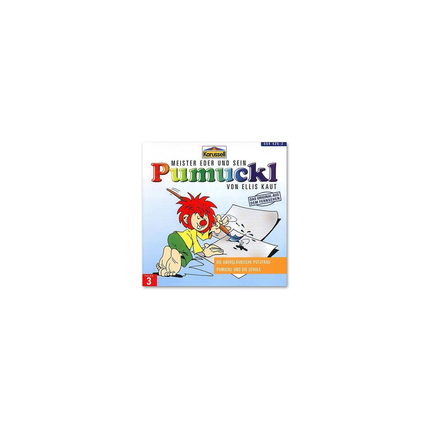 Universal Music GmbH CD Pumuckl 03 - die abergläubische Putz- frau
