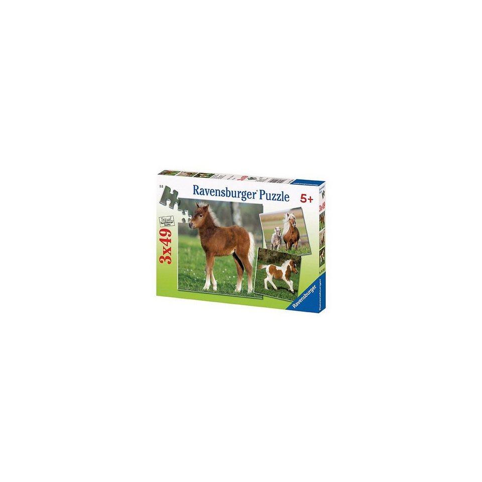Ravensburger Puzzle-Set - 3 x 49 Teile - Ponyfreundschaft