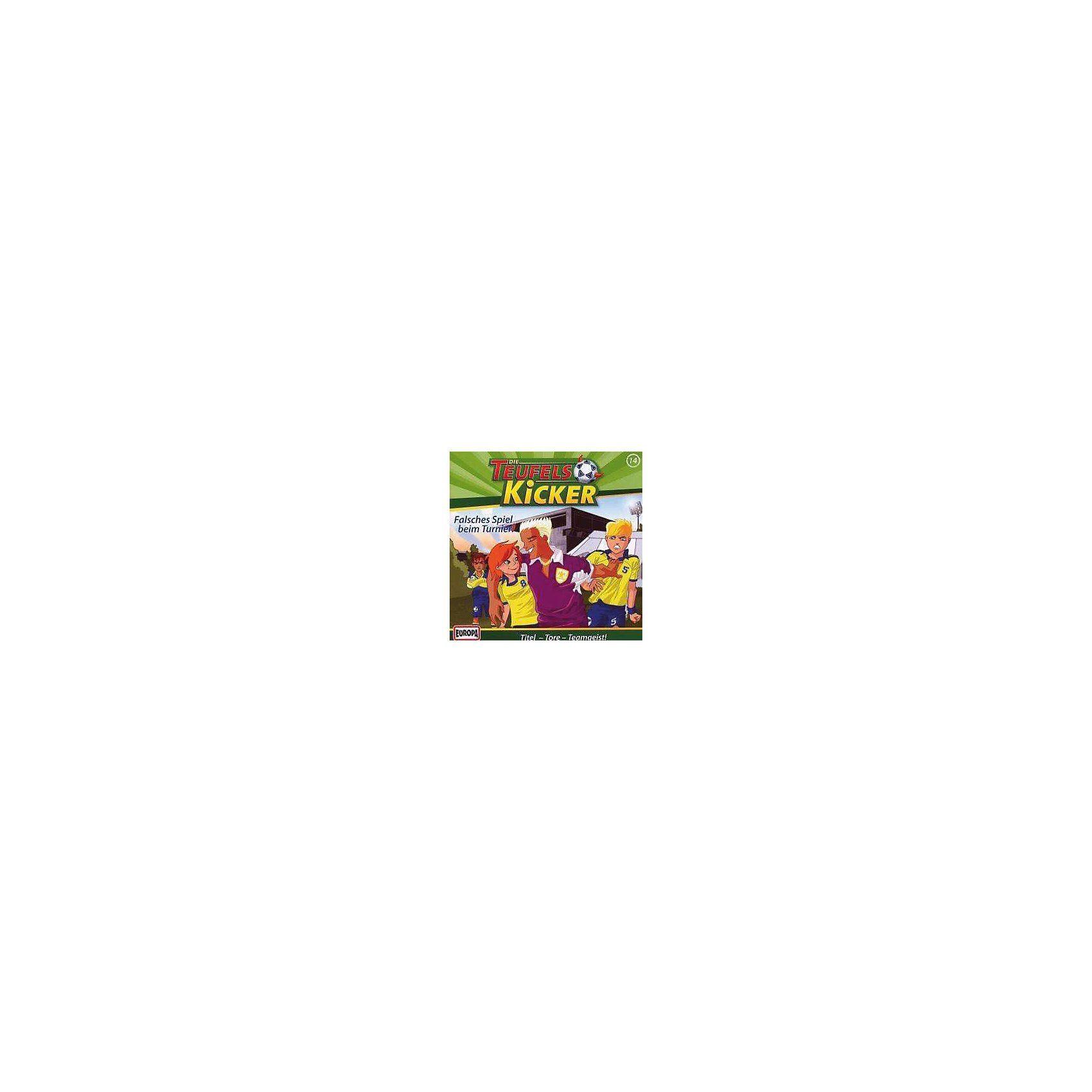 SONY BMG MUSIC CD Teufelskicker 14 Falsches Spiel im Turnier