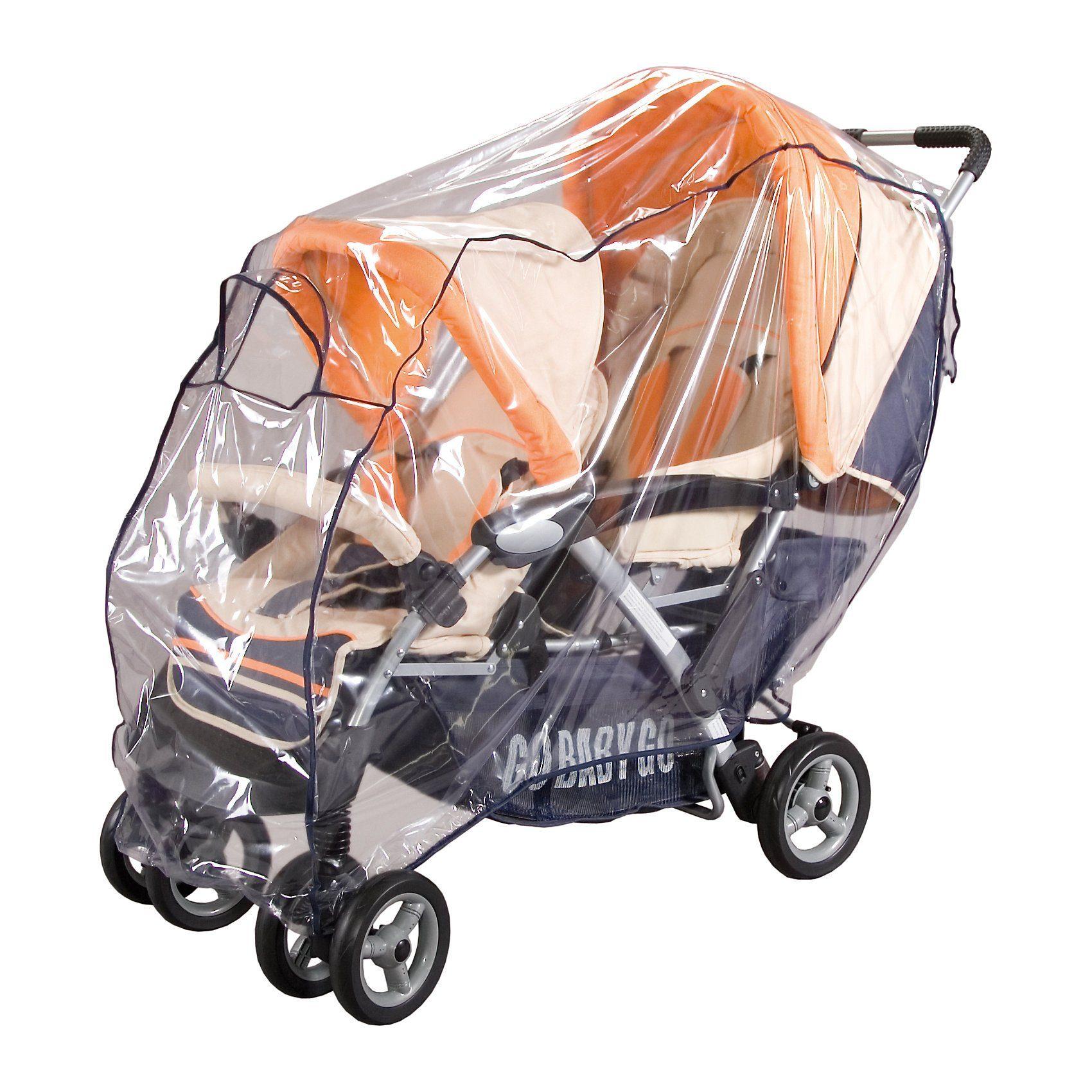 sunnybaby Regenverdeck für Geschwistersportwagen, marine