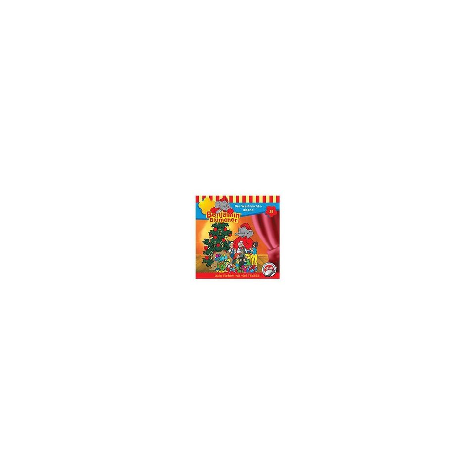 Kiddinx CD Benjamin Blümchen 51 - Der Weihnachtsabend