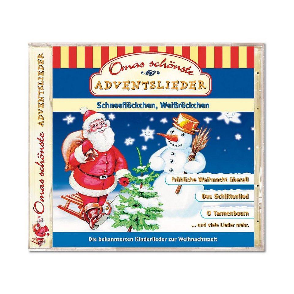 Kiddinx CD Omas schönste Adventslieder - Weihnachten online kaufen