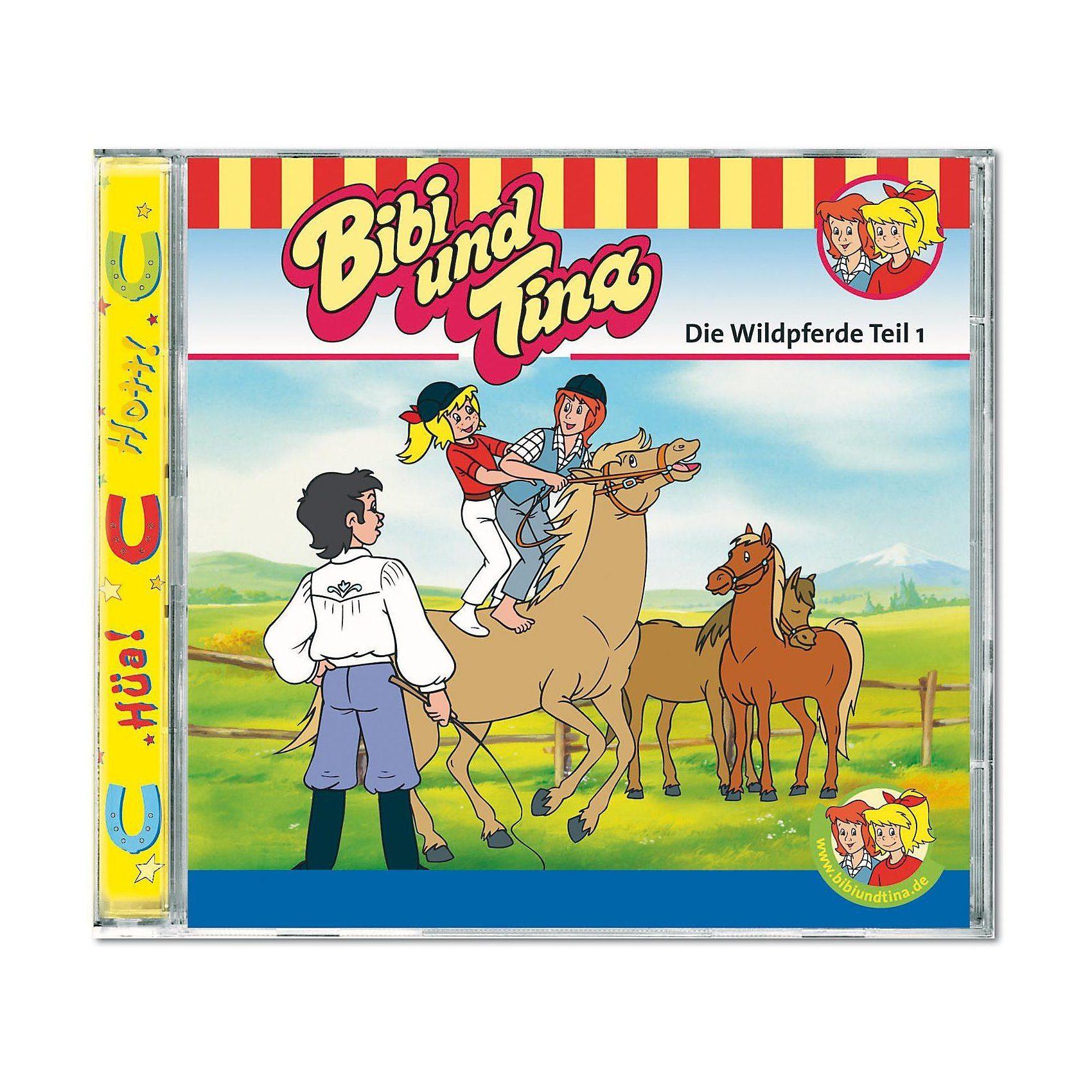 Kiddinx CD Bibi und Tina 13: Die Wildpferde 01