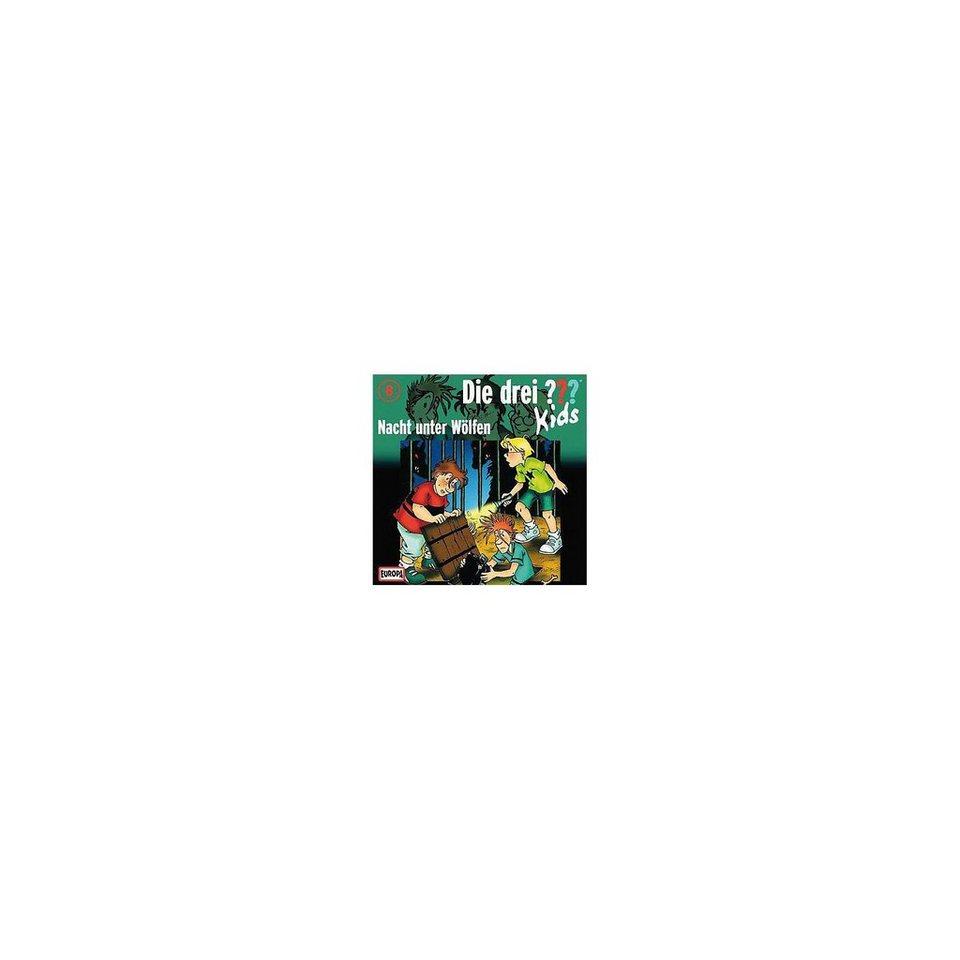 SONY BMG MUSIC CD Die drei ??? Kids 08 - Nacht unter Wölfen