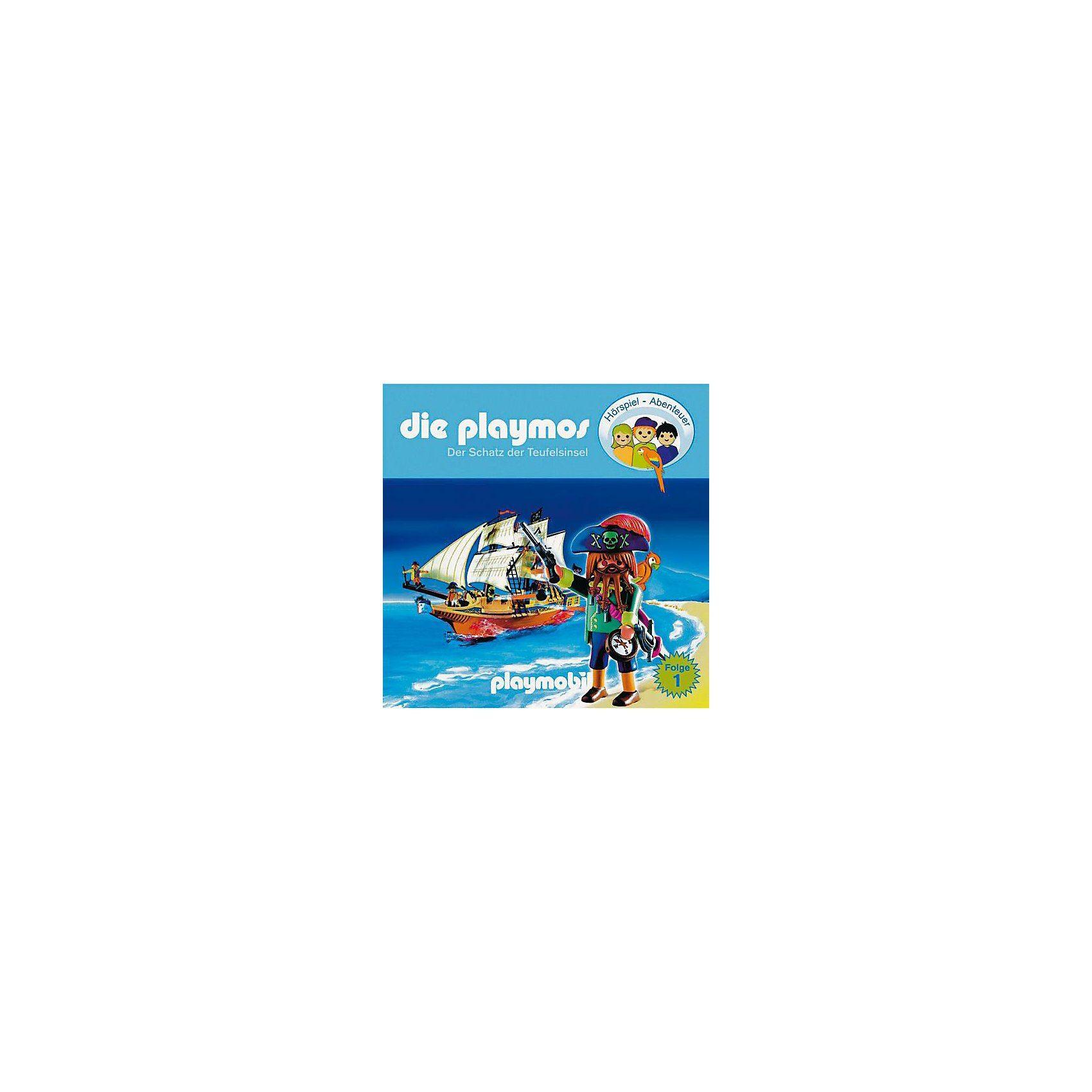 Edel CD Die Playmos 01 - Der Schatz der Teufelsinsel