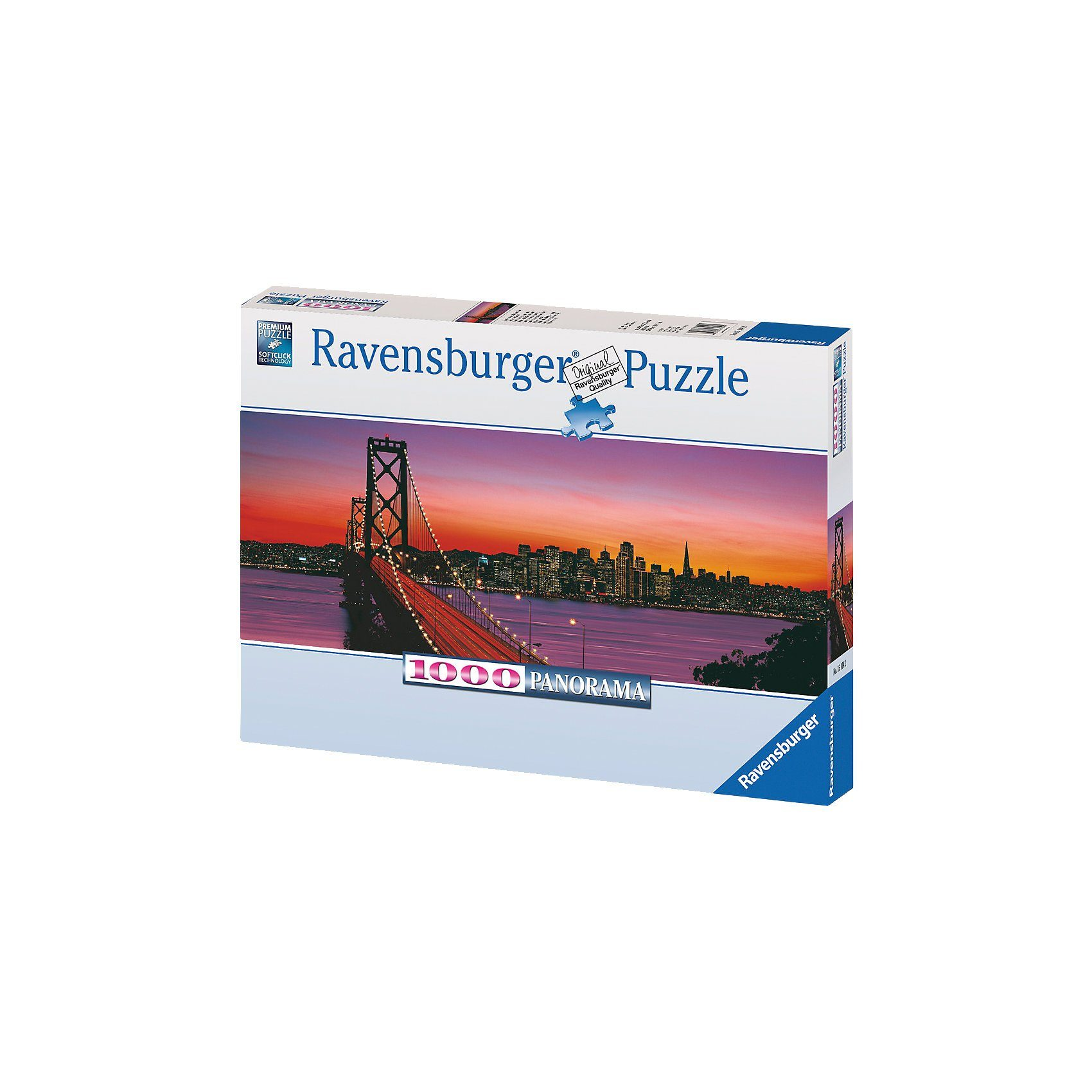 Ravensburger Puzzle Oakland Bay Bridge - 1000 Teile
