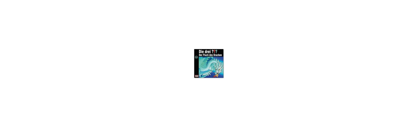 SONY BMG MUSIC CD Die Drei ??? 130 - Der Fluch des Drachen