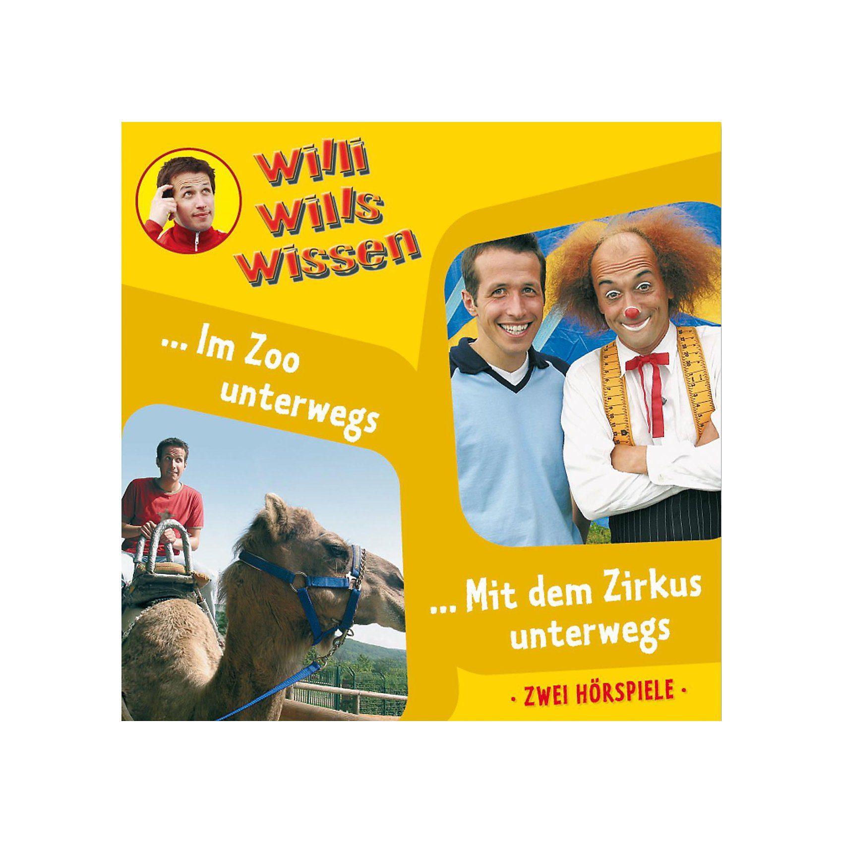 Edel CD Willi wills wissen 05: In Zoo unterwegs/ Mit dem Zirkus u