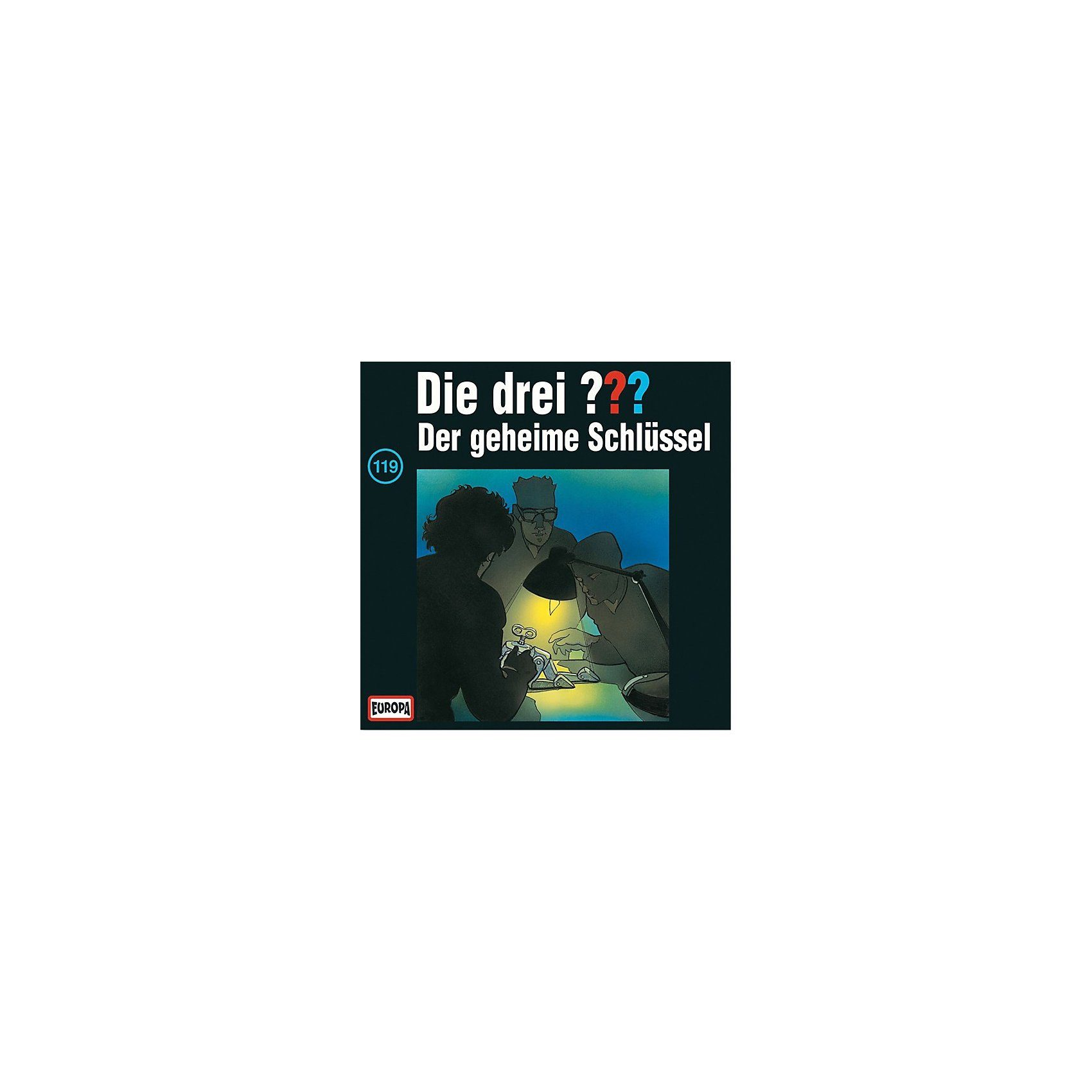 SONY BMG MUSIC CD Die Drei ??? 119 - Der geheime Schlüssel