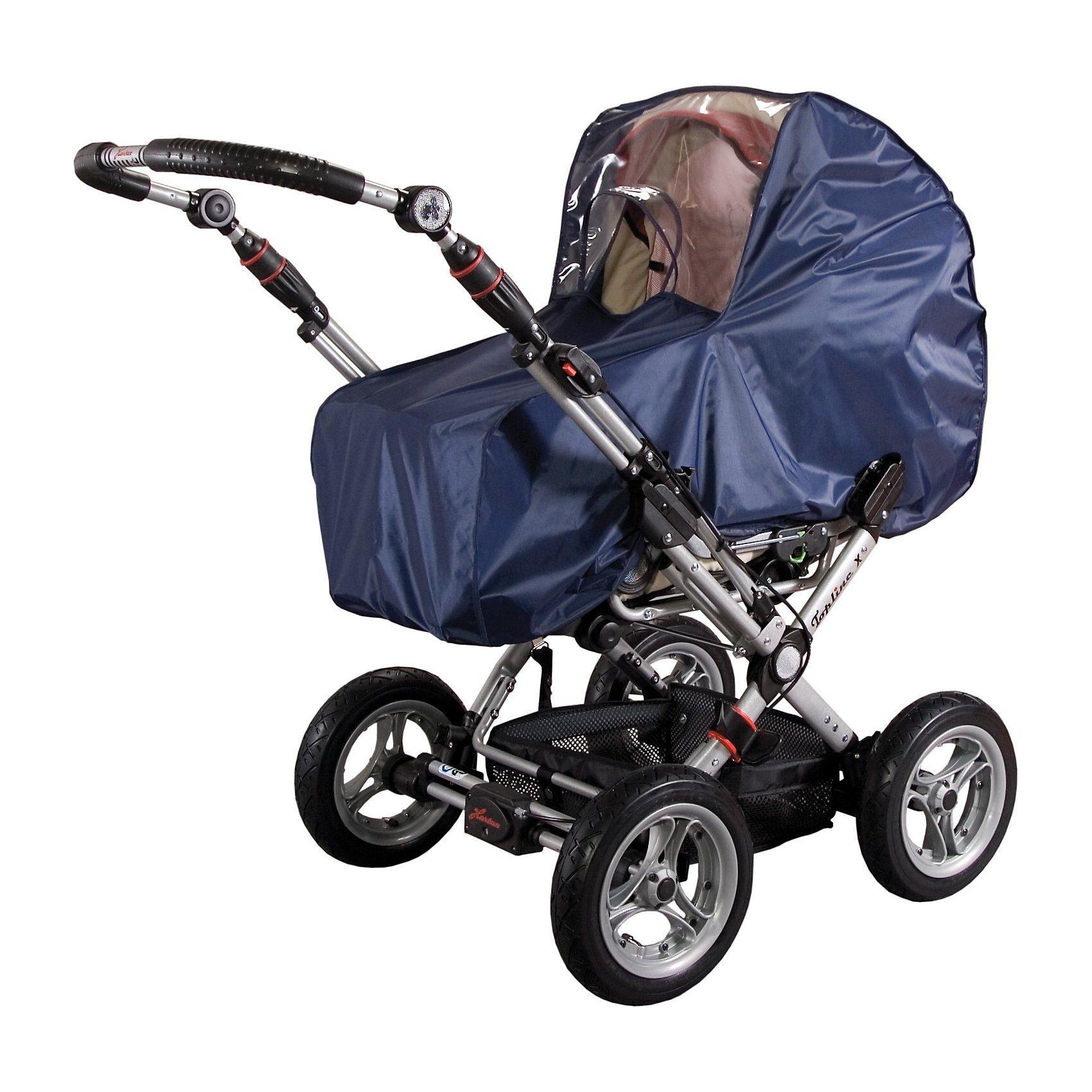 sunnybaby Regenverdeck für Kinderwagen, Nylon, marine