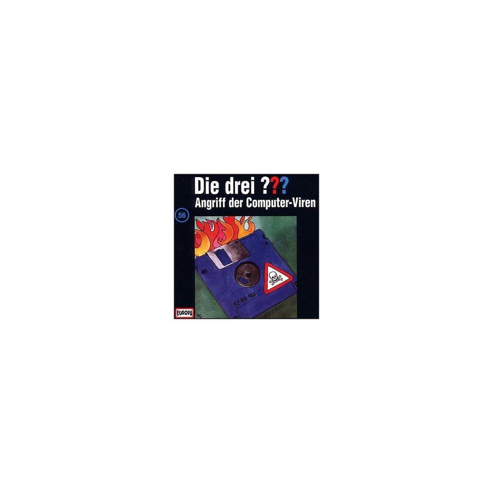 SONY BMG MUSIC CD Die Drei ??? 56/Angriff der Computer-Viren