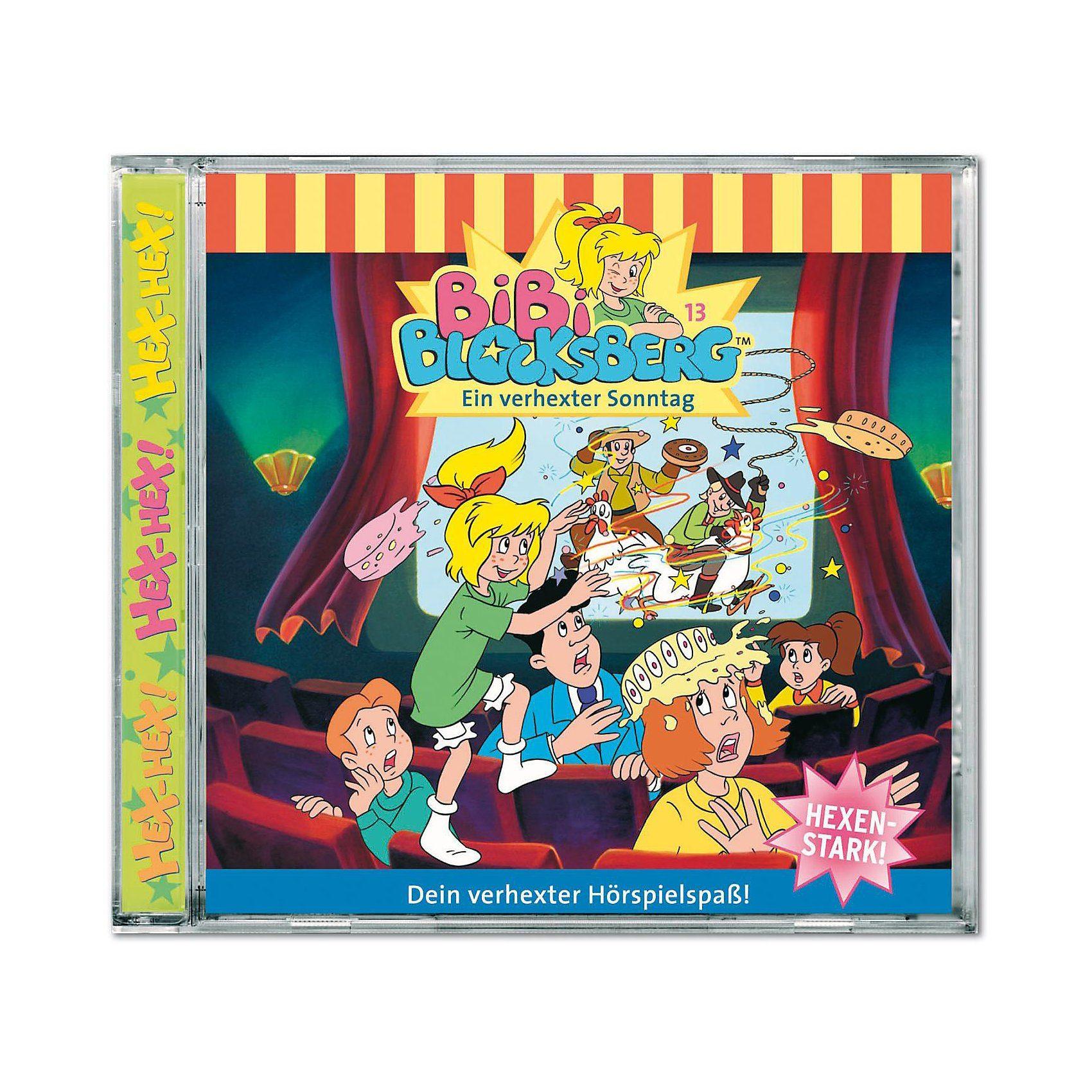 Kiddinx CD Bibi Blocksberg 13: Ein verhexter Sonntag