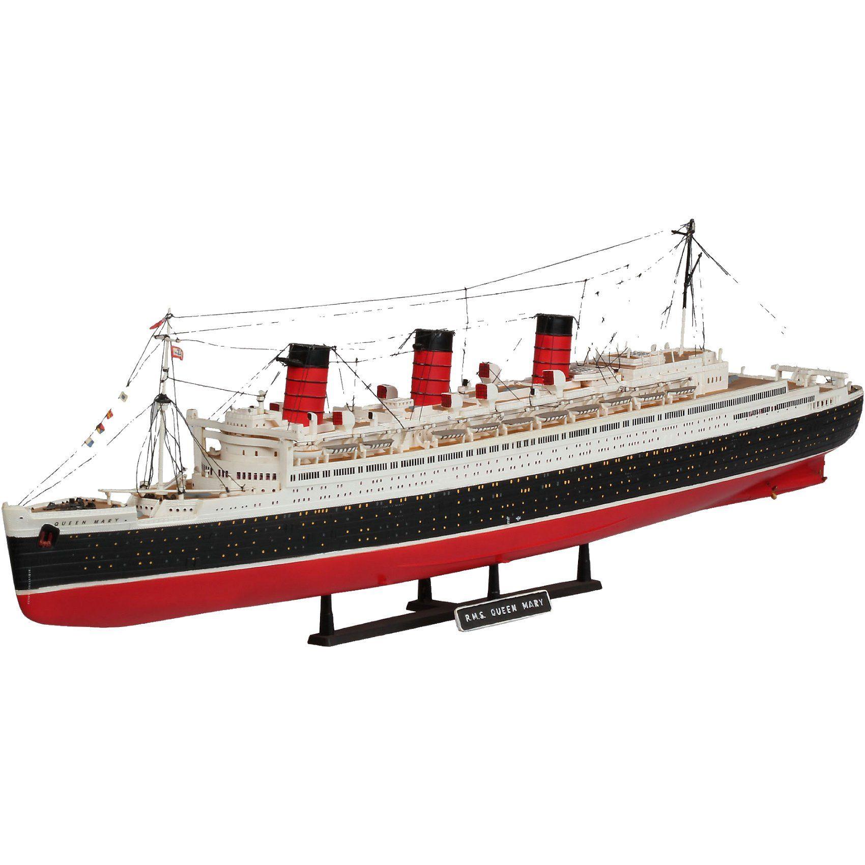 Revell Modellbausatz Queen Mary im Maßstab 1:570
