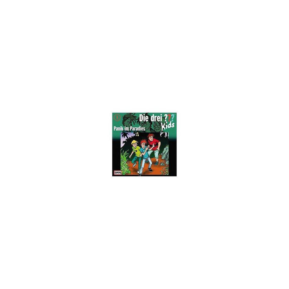 SONY BMG MUSIC CD Die drei ??? Kids 01 - Panik im Paradies