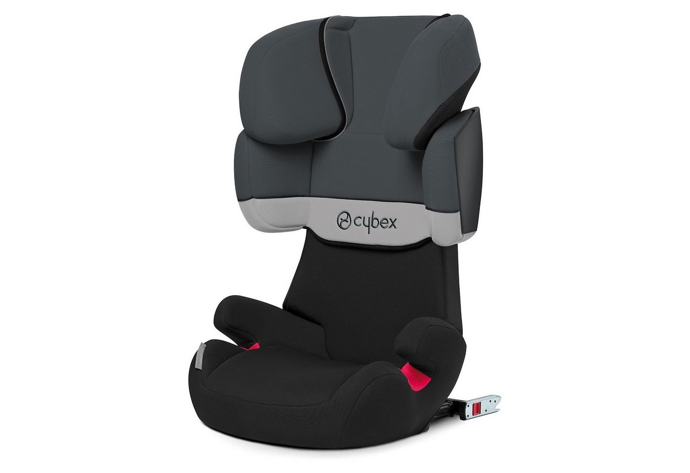 cybex auto kindersitz solution x fix silver line grey. Black Bedroom Furniture Sets. Home Design Ideas