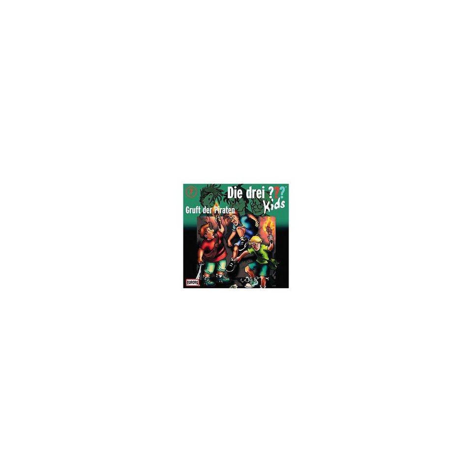 SONY BMG MUSIC CD Die drei ??? Kids 07 - Gruft der Piraten