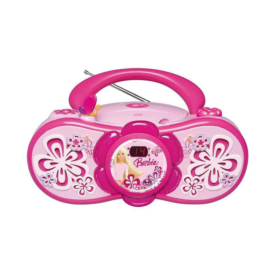LEXIBOOK Barbie CD-Player mit Radio