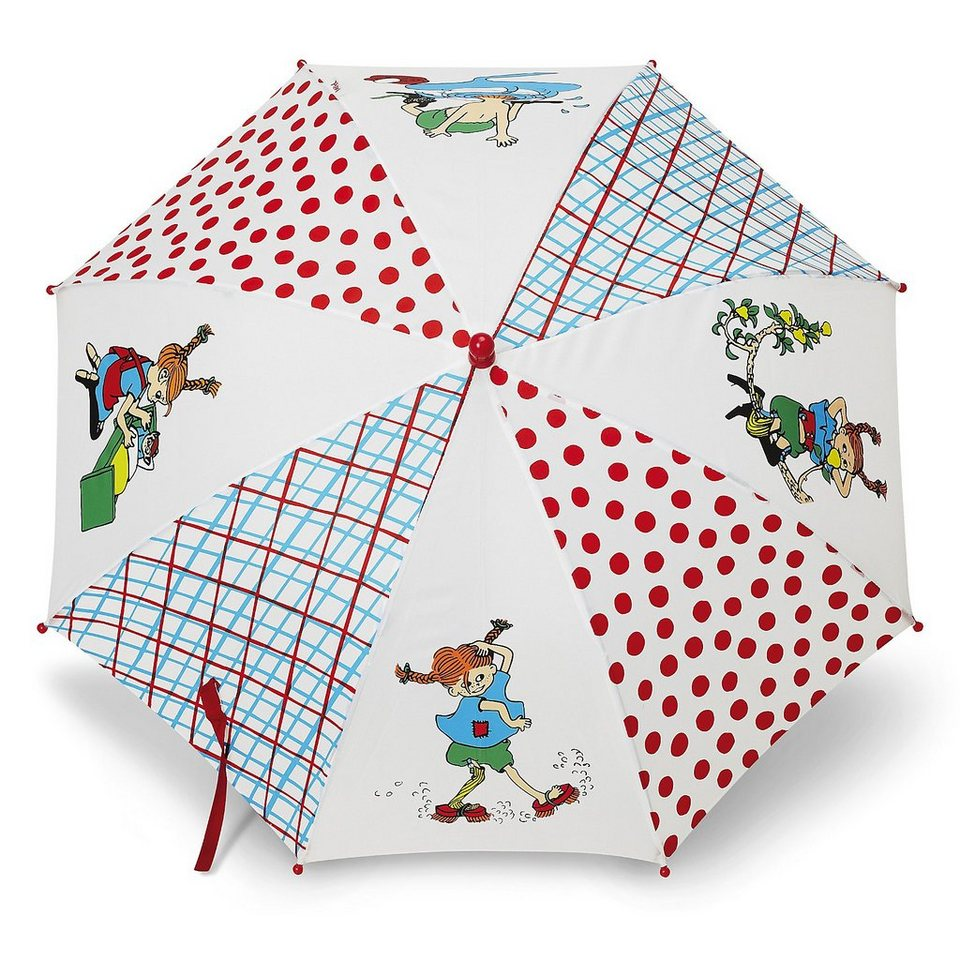 Glow2B Pippi Langstrumpf Regenschirm