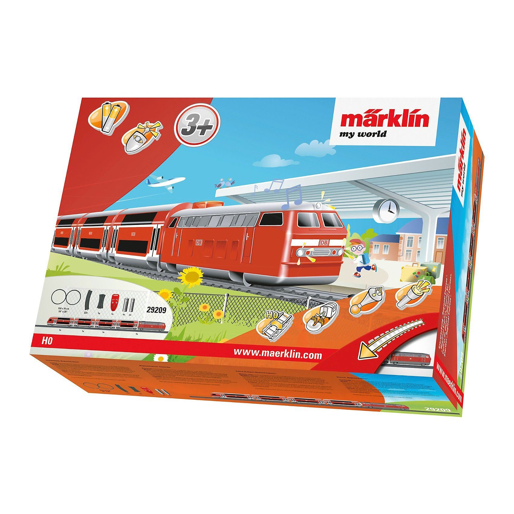 Märklin my world - 29209 Startpackung Regional Express (Batterie)