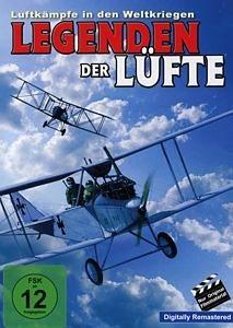 DVD »Legenden der Lüfte - Die grossen Jagdflieger«