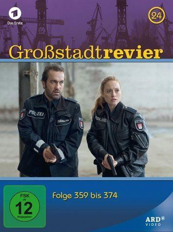 DVD »Großstadtrevier - Box 24, Folge 359 bis 374 (4...«